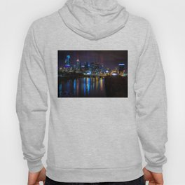 Philly Skyline Glowing Hoody