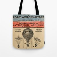 sport Tote Bags featuring Sport Aeronaute by DAChiemsee