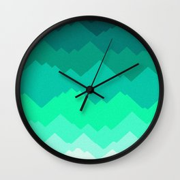 Emerald City Wall Clock