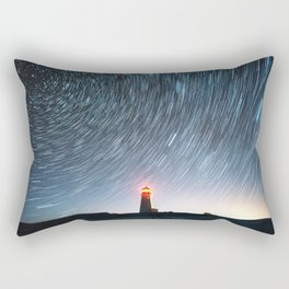 Lighthouse in the Stars Rectangular Pillow