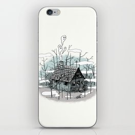 DEEP IN THE HEART OF THE FOREST iPhone Skin