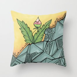 Exactly Right Here Throw Pillow