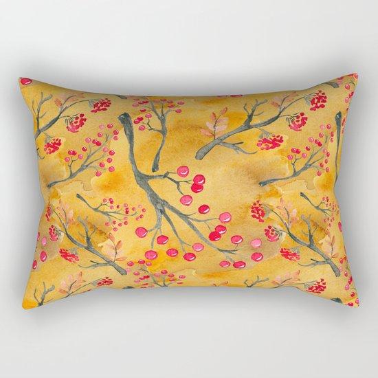 Autumn leaves #12 Rectangular Pillow