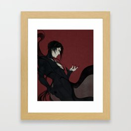 That butler, disguised Framed Art Print