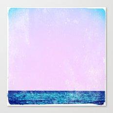 summer sail (lilac) Canvas Print