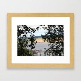 Through the Bushe Framed Art Print