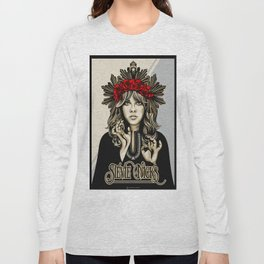 Stevie Nicks White Witch Long Sleeve T-shirt