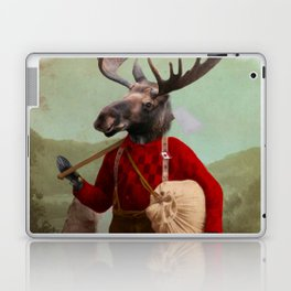 Lumberjack Marvin Moose Laptop & iPad Skin