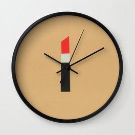 LAPIZ DE LABIOS Wall Clock