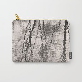 Mirroring. Lake reflections of trees. Carry-All Pouch