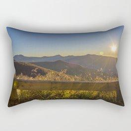 Sunrise on the Blue Ridge #2 Rectangular Pillow