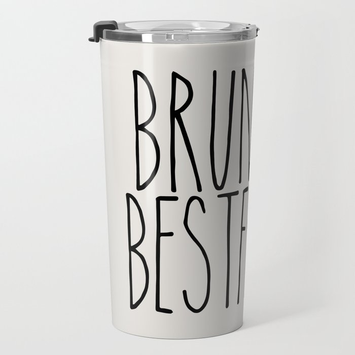 Brunette Best Friend Travel Mug