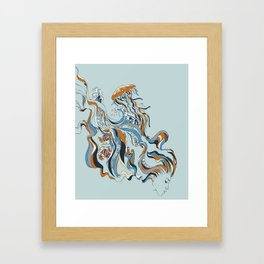 The Maiden Framed Art Print