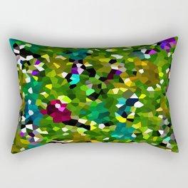 Pineapple Abstract Geometric Rectangular Pillow