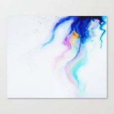 Bleeding Colour Canvas Print