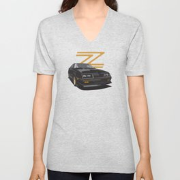 Daytona Turbo Z / CS - black/gold Unisex V-Neck