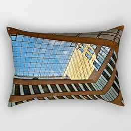 Modern office building in Hamburg Rectangular Pillow