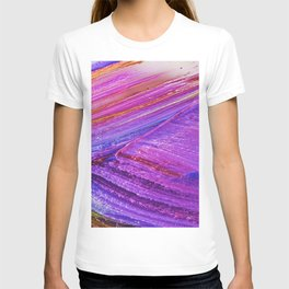 Abstract High Quality Planet Surface v6 T-shirt