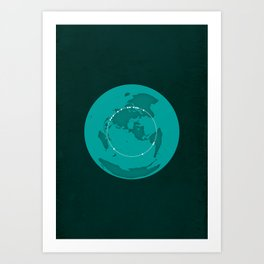 The Great Circle Art Print