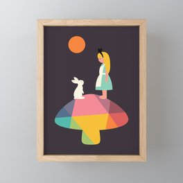 A Wonderful Trip Has Begun Framed Mini Art Print