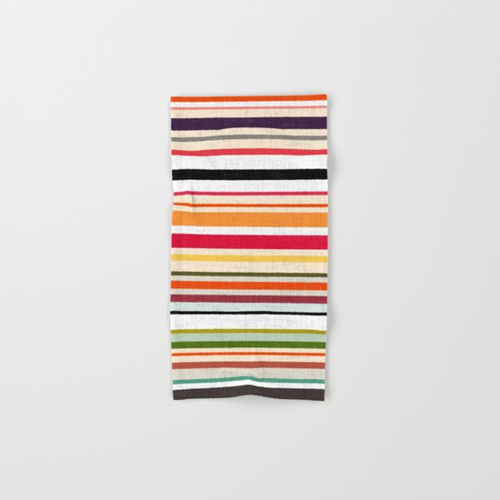 apartment stripe Hand & Bath Towel