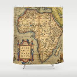 Shower Curtains By Map Shop Society - Old map shop