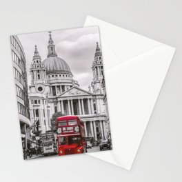 London Classic Bus Stationery Cards