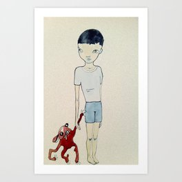 kid Art Print