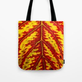 Tiger Leaf Tote Bag