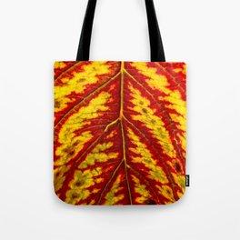 Tiger Leaf Tote Bag