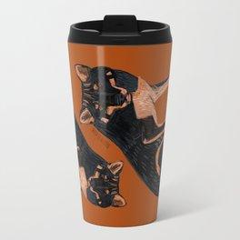 Black dingo (c) 2017 Travel Mug