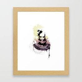 Bicéphale Framed Art Print