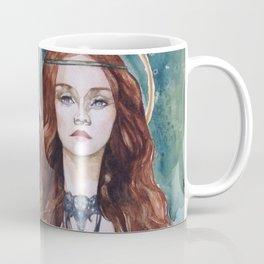 Art Nouveau Figure Coffee Mug