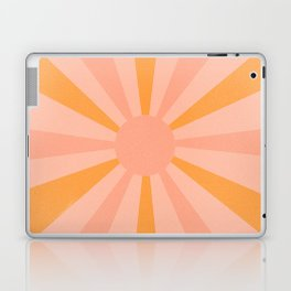 pink and orange sunshine Laptop & iPad Skin