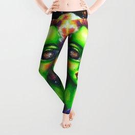 Iconic Alien Women: Marilyn Leggings