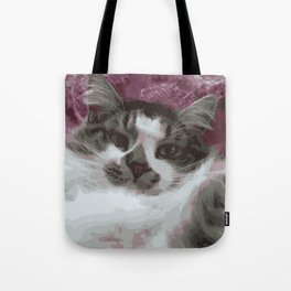 The coolest cat Tote Bag