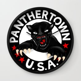 WGH Panthers - Warren Ohio 100 Wall Clock