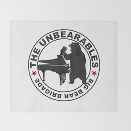 The UnBearables Throw Blanket