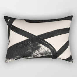 That was a cow - Abstraction print Rectangular Pillow