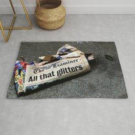 All That Glittered Rug
