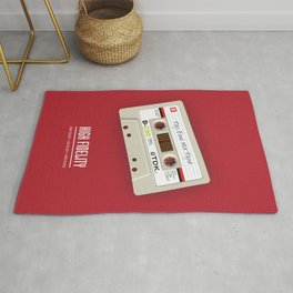High Fidelity - Alternative Movie Poster Rug