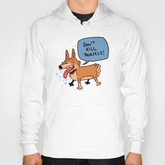 deep cat thoughts Hoody