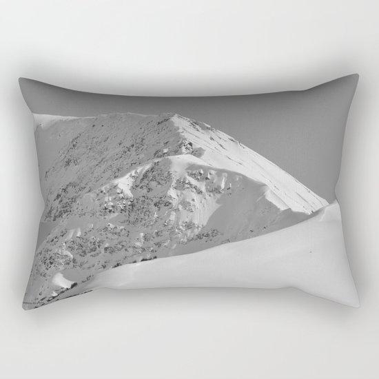 White as Snow Rectangular Pillow