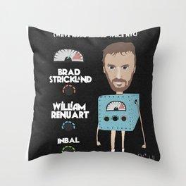 FranÇois K Flier Throw Pillow