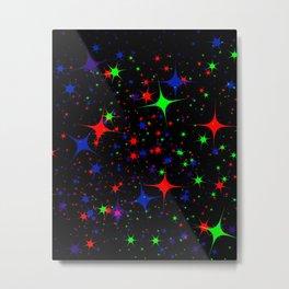 Starbursts  Metal Print