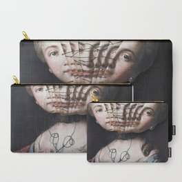 Split Personalities Carry-All Pouch