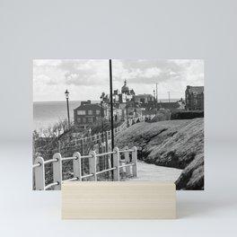 The seaside town of Cromer on the North Norfolk coast Mini Art Print