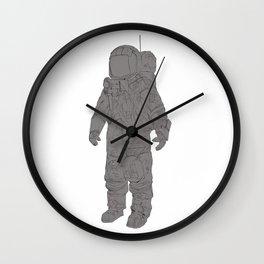 Astronaut White Wall Clock