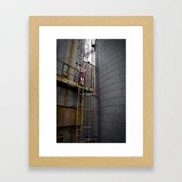 Ladder Theory Framed Art Print