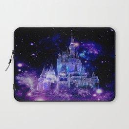 Celestial Palace : Purple Blue Enchanted Castle Laptop Sleeve